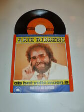 "ARIE RIBBENS - Als Het Vollie Maan Is - 1988 Dutch 2-track 7"" Juke Box Single"