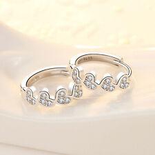 Small Heart Hoop Little Girl Kids Fashion 925 Sterling Silver Jewellery Earrings