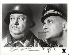 JOHN BANNER WERNER KLEMPERER SIGNED PHOTO 8X10 RP AUTOGRAPHED HOGAN'S HEROES