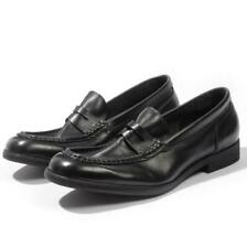 Mens Slip on Comfy Soft Breathable Real Leather Business British Loafers Shoes L