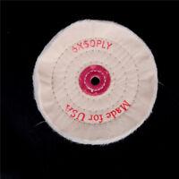 """6 ' 'tissu polissage meule 1/2  """"arbre tampon polonais meuleuse outil Pad"""