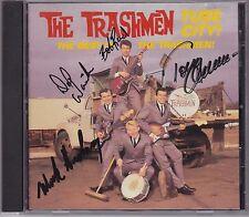 The Trashmen garage rock kings signed cd