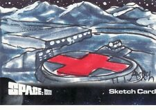 SPACE 1999 Steven Burch / Moonbase Alpha Sketch Card Unstoppable Cards