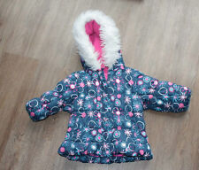Shrinking Violet London Beautiful Hooded Padded Coat Age 12 Months