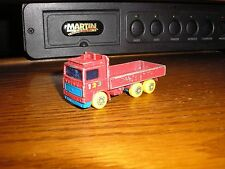 Nice Vintage Matchbox 1/64 Volvo Flatbed Stake Truck with Yellow Wheels
