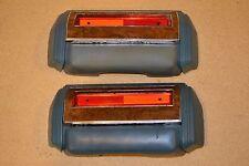 81-87 AMC Eagle/Concord/Spirit Front Door Armrest Arm Rest Blue w/ Wood Trim OEM