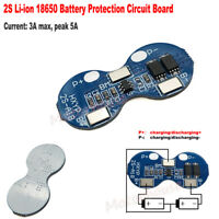 2S 3A 7.4V 8.4V 18650 Li-ion Lithium Battery BMS Charge PCM Protection PCB Board