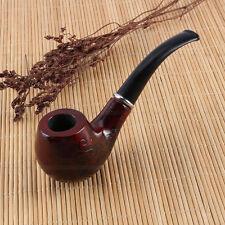 Neuf en Bois Tabac à Pipe de dessins gravés Cigarettes Cigare Durable Cadeau
