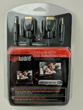 Gigaware Laptop to Hdtv Vga Audio/Video Cable 10-Ft. - 2603153