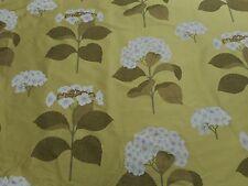 Sanderson Curtain Fabric 'Lacecap Silk' 3.8 METRES (380cm) Linden - 100% Silk