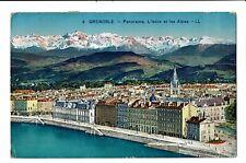 CPA-Carte postale-France -Grenoble Panorama l'Isère et les Alpes 1928  VM2167