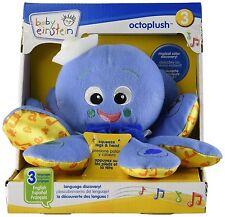 NEW! Baby Einstein Octoplush Toys Developmental Infant Learn Language Spanish