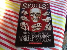Skulls Build And Display 8 Different Animal Skulls New Scholastic W/ Book 2006
