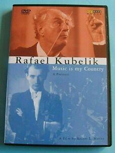 RAFAEL KUBELIK Music is My Country DVD All Regions