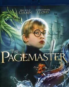 The Pagemaster (Macauley Culkin) (BLU RAY) Region free  -sealed