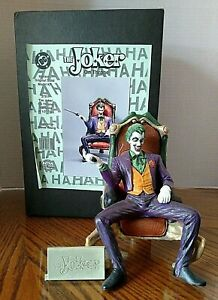 Joker On Throne Horizon Solid Model/1/8 Scale/Built Up/Painted/Fixer Upper/1997