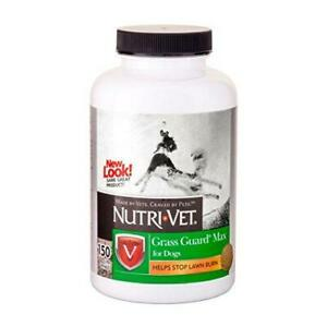 Nutri-Vet Grass Guard Max Chewables for Dogs| Dog Probiotic Supplement|