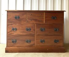 Laura Ashley Garrat Dark Solid Wood Chest of Drawers / Sideboard £800