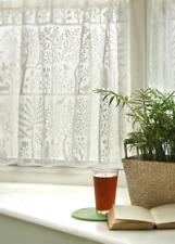 "Heritage Lace White RABBIT HOLLOW Window Tier 24""L"