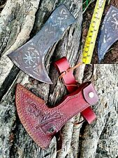 MDM ENGRAVED VINTAGE HATCHET AXE HAND ANCIENT MEDIEVAL BATTLE AXE HEAD HUSBAND G