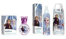 Frozen II - Set per Bambini Composto da Profumo, Gel Bagnoschiuma, Body Spray