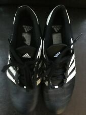 Adidas Mens Black With White Detail Trainers Size 8 Style Number YC827