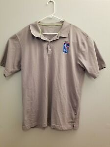 Queensboro Hybrid FLORIDA CARRY Mens Polo Cotton Blend Gray L