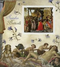Mali 2018 MNH Sandro Botticelli Italian Painter 1v S/S Art Paintings Stamps