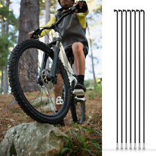 36pcs x 14G BICYCLE SPOKES WITH NIPPLES 170mm-290mm