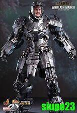 "Hot Toys 1/6 ~ Marvel Ironman Whiplash Mark II Diecast 12"" Figure"