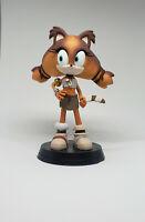Sonic Sticks the badger 3d printed handpainted figurine