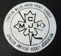 OTTAWA 67'S VINTAGE MAJOR OHA JR. A VICEROY MFG. RARE CAHA CMJHL  GAME PUCK