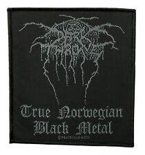 Darkthrone - True Norweigan Black Metal Patch/Aufnäher, gewebt] (SP1714) Patch