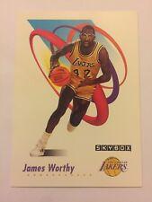 1991 SkyBox NBA Basketball Card - Los Angeles Lakers #143 James Worthy