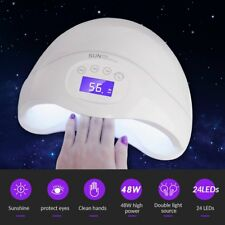 SUNUV 48W SUN5 Plus Professional LED UV Nail Lamp Led Nail Light Nail Dryer USA