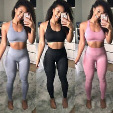 Women Seamless Leggings Gym Sports Yoga Pants Ladies Fitness Slim Trousers SK