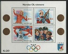Norway Stamps 1989 Winter Olympic Games (1994) Sg Ms 1064 Unmounted Mint Mnh