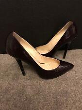 Giuseppe Zanotti Design Burgandy / Maroon Women Ladies Shoes used Size 6.5 (39.5