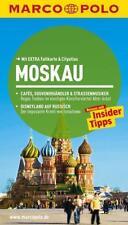 MARCO POLO Reiseführer Moskau 13. aktualisierte Auflage UNBENUTZT mit Karte