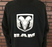 Dodge Ram Trucks Long Sleeve T-Shirt Men's Size 3XL