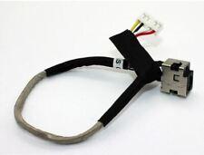 DC Power Jack Socket w/ Harness Cable For HP Compaq Presario CQ40 CQ41 CQ45 DV4