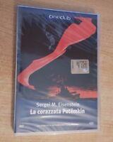 DVD SERGEI M. EISENSTEIN LA CORAZZATA POTËMKIN CINECLUB 15 THE REAL_DEAL SHOP