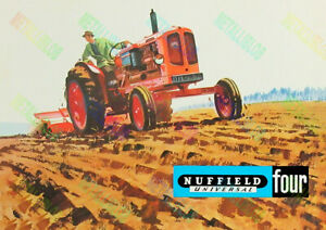 Nuffield Universal Four Poster (A3)
