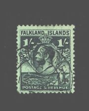 Vintage: Falkland Islands 1929-31 Usd,Bh Scott # 60 $ 37.50 Lot # Vsaflk1929B