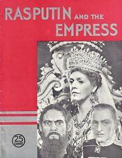 "The Barrymore's ""RASPUTIN and the EMPRESS"" Ethel - John - Lionel 1932 Program"