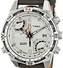 PRE-OWNED $175 Timex Men's Intelligent Fly Back Compass Watch T46866 NO BOX
