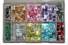 Assorted Box of Mini Blade Fuses 2A - 30A 200 QTY New Car Garage Workshop AT8