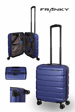 Franky ABS13 Bordkoffer Gr. S, 4x360° Doppelrollen, TSA-Schloss, dunkelblau