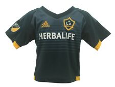 Los Angeles Galaxy Official Adidas MLS Infant Toddler Size Athletic Jersey New