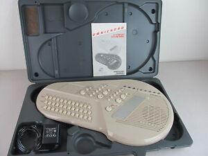 Suzuki Omnichord System 100 + AC Power Adapter + Carrying Case + Manual